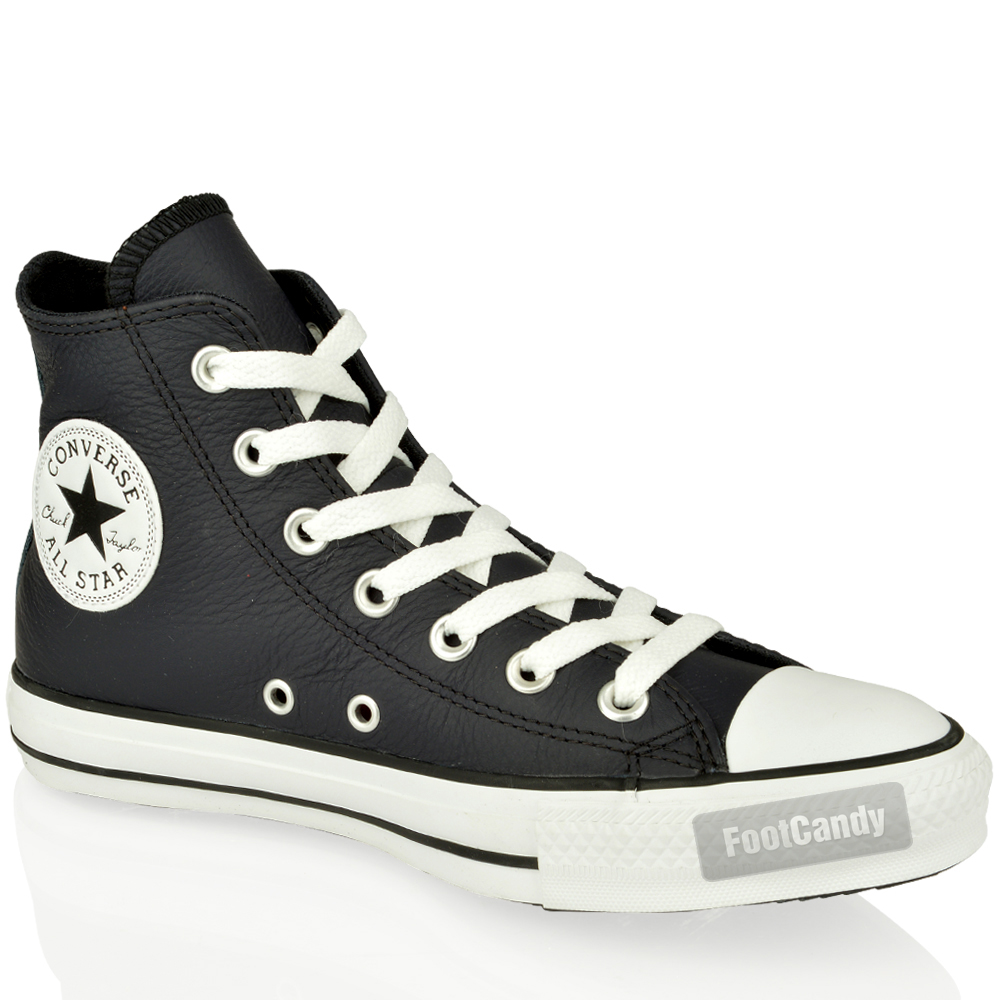 Converse-All-Star-Chuck-Taylor-140027-Navy-Leather-Hi-Sneakers-Boots-Shoes-Size
