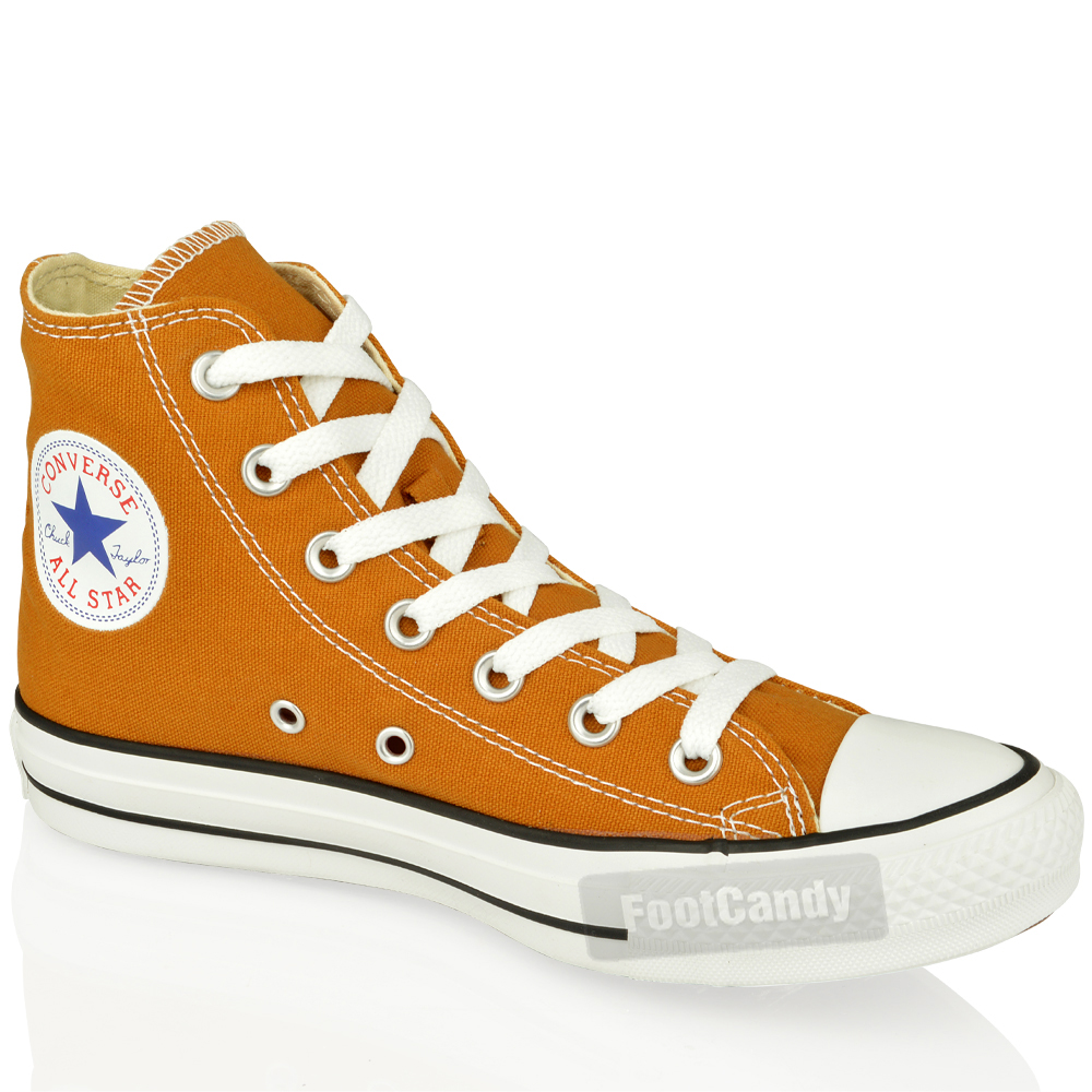 CONVERSE-ALL-STAR-CHUCK-TAYLOR-139785-HI-TOP-BROWN-CANVAS-SNEAKER-BOOTS-SIZE