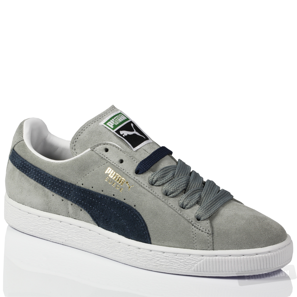 puma gray suede shoes. Black Bedroom Furniture Sets. Home Design Ideas