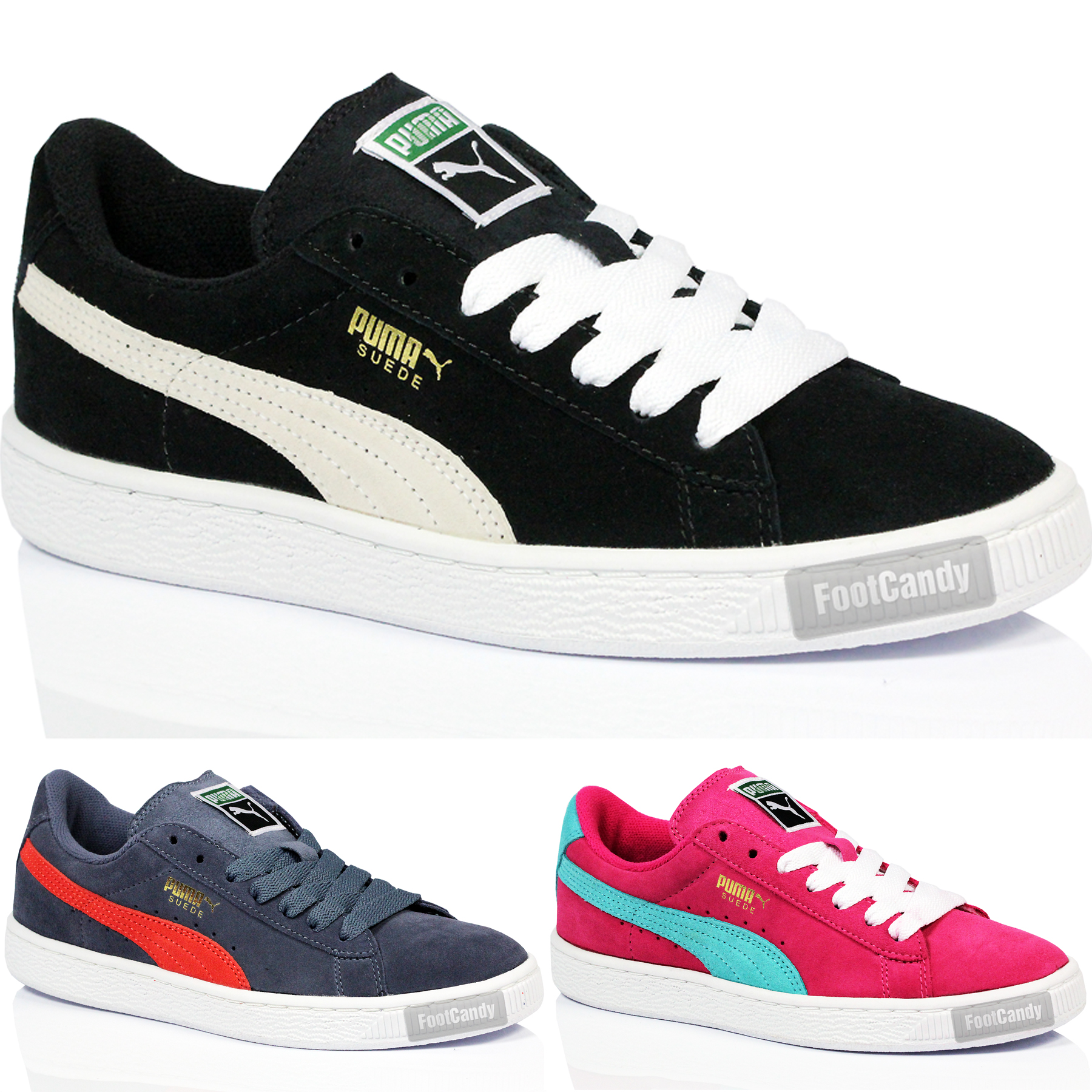 Puma Trainers Girls simplisecurity.co.uk