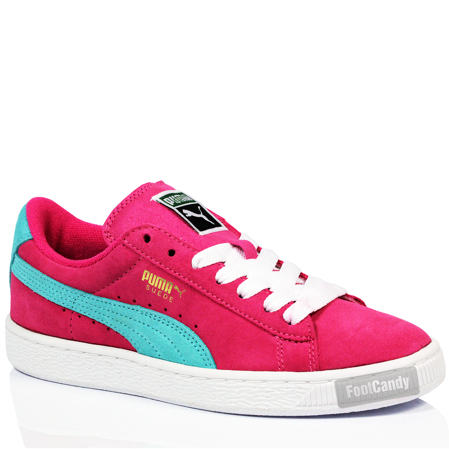 KIDS JUNIOR YOUTHS CLASSIC PUMA SUEDE LEATHER LACE SPORTS ...