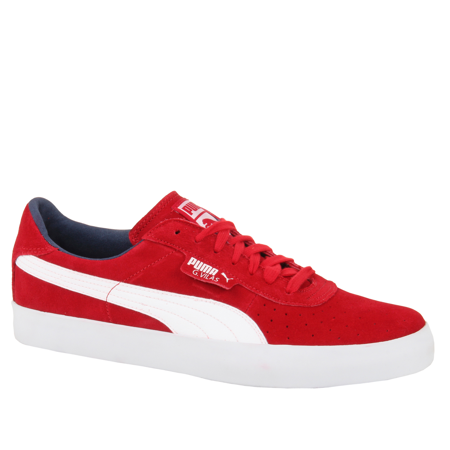 mens retro g villas classic suede leather trainers