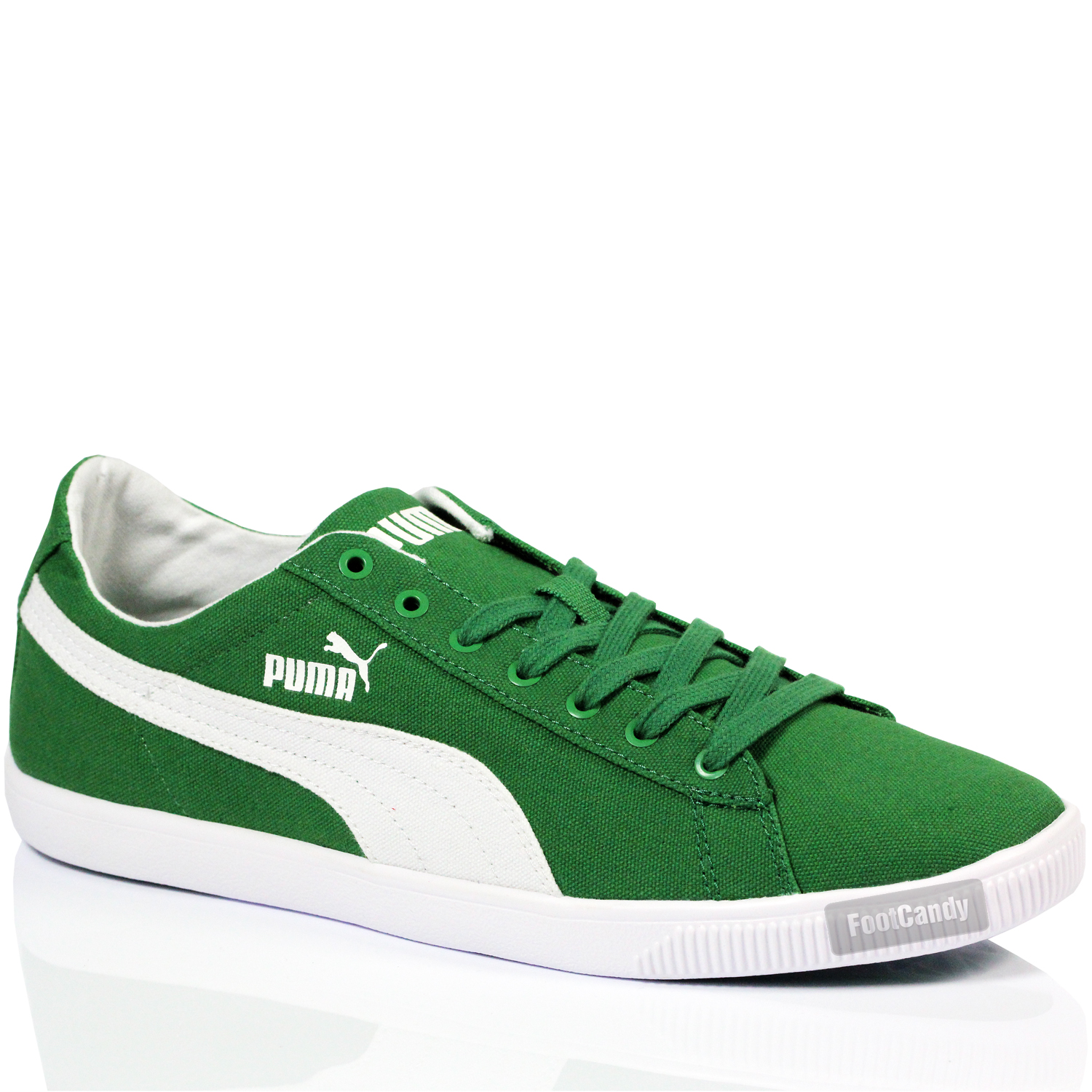 MENS BOYS PUMA GLYDE LITE LOW CANVAS LACE SPORTS SNEAKERS TRAINERS ... a81783962