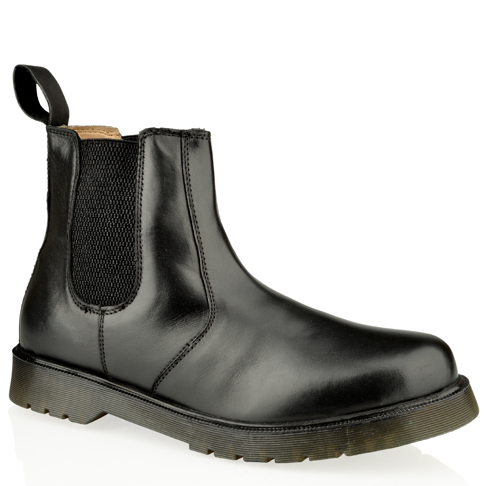 Mens Slip On Leather Boots | Homewood Mountain Ski Resort