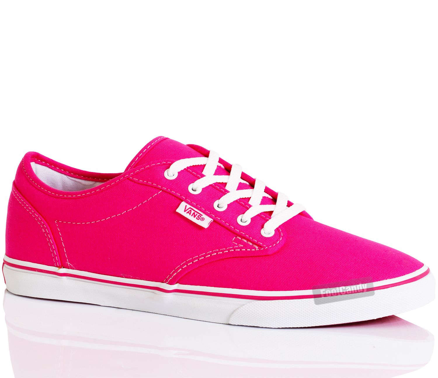 WOMENS-VANS-ATWOOD-LO-TOP-SKATE-SNEAKER-CANVAS-LACE-UP-TRAINERS-SHOES-SIZE