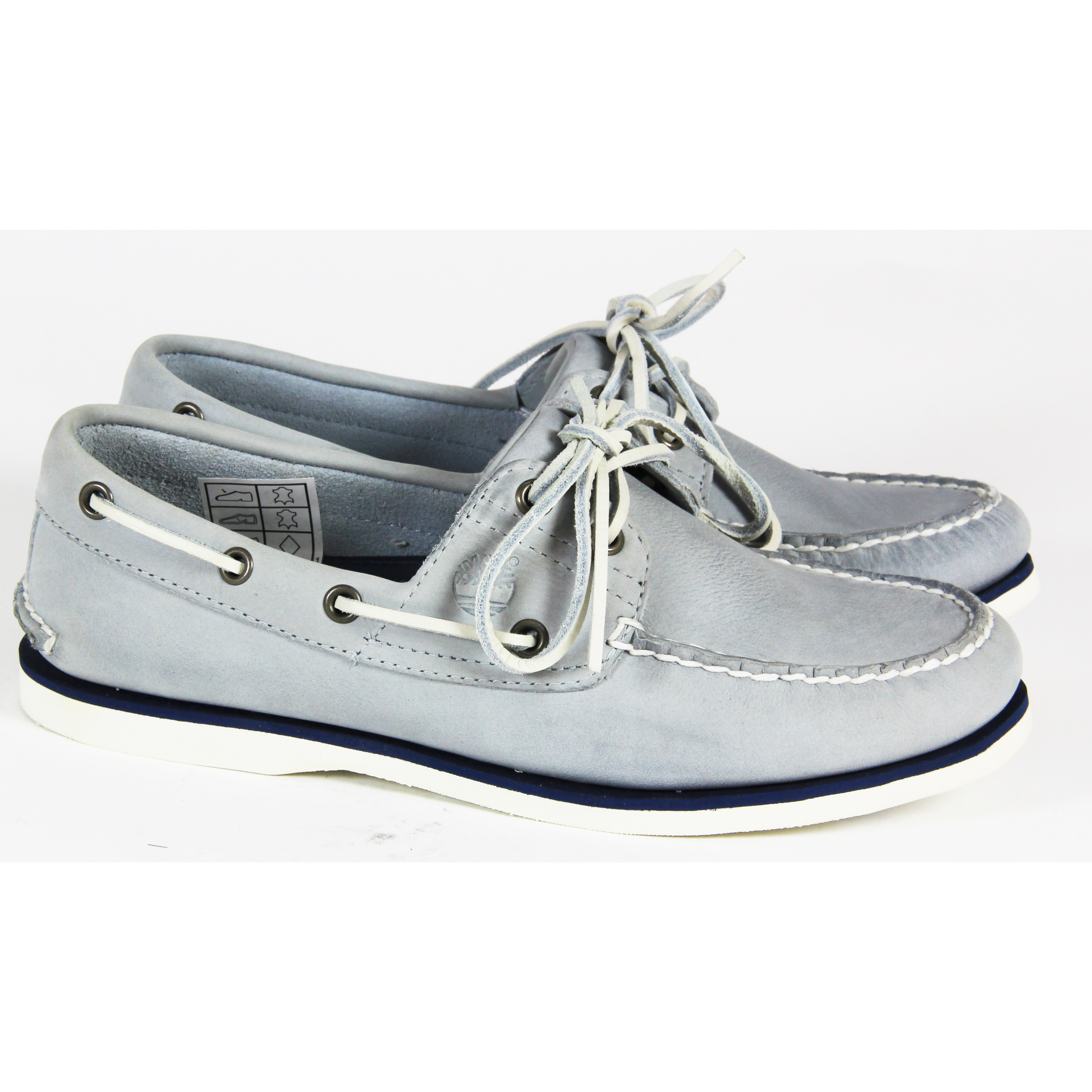 MENS-TIMBERLAND-CASUAL-LACE-UP-2-EYE-BOAT-SHOES-LEATHER-SHOES-TRAINERS-SIZE-UK-7