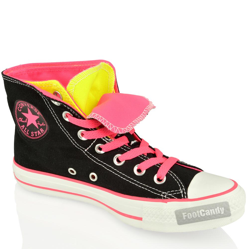 Converse All Star Chuck Taylor Doble Superior hola zapatos 5PDkqX