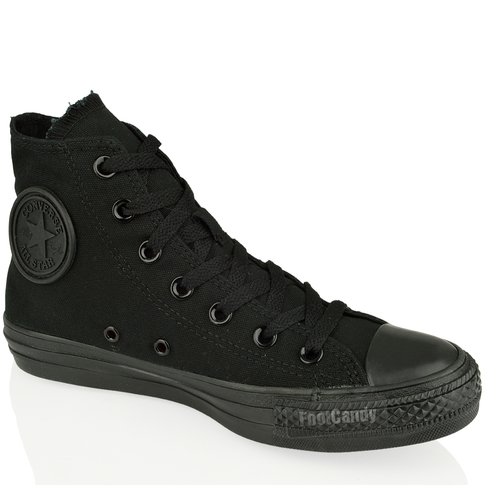CONVERSE-ALL-STAR-CT-M5039-M3310-BLACK-CANVAS-HI-LO-TOP-BOOTS-TRAINERS-SIZE