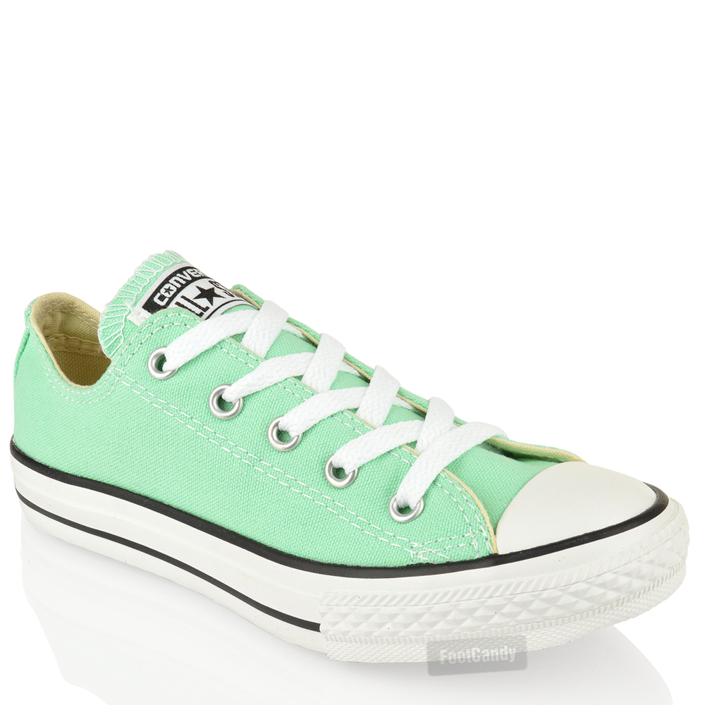 KIDS-JUNIOR-CONVERSE-ALL-STAR-LO-TOP-CANVAS-LACE-UP-SKATE-TRAINERS-SHOES-SIZE