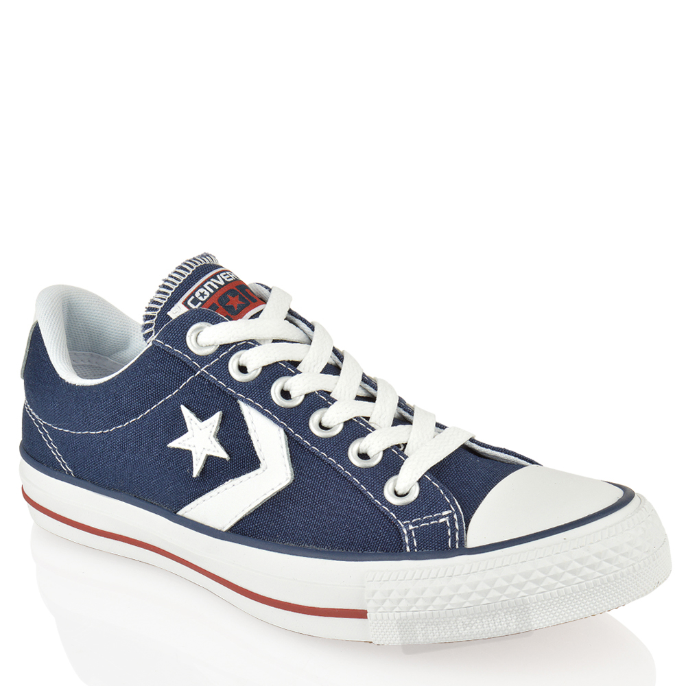 UNISEX-CONVERSE-STAR-PLAYER-142183-OXFORD-CANVS-BLACK-LO-TOP-TRAINERS-SHOES-SIZE