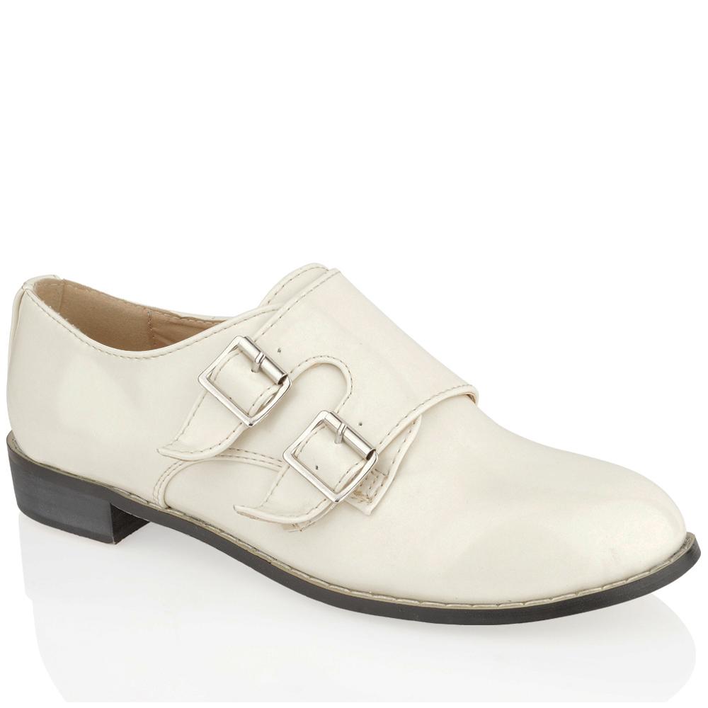 Ladies Double Monk Strap Shoes