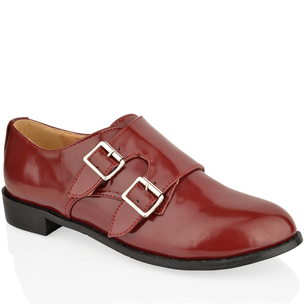 Model Miroir  Leather Women39s Monk Shoes  CUSTOM FIT