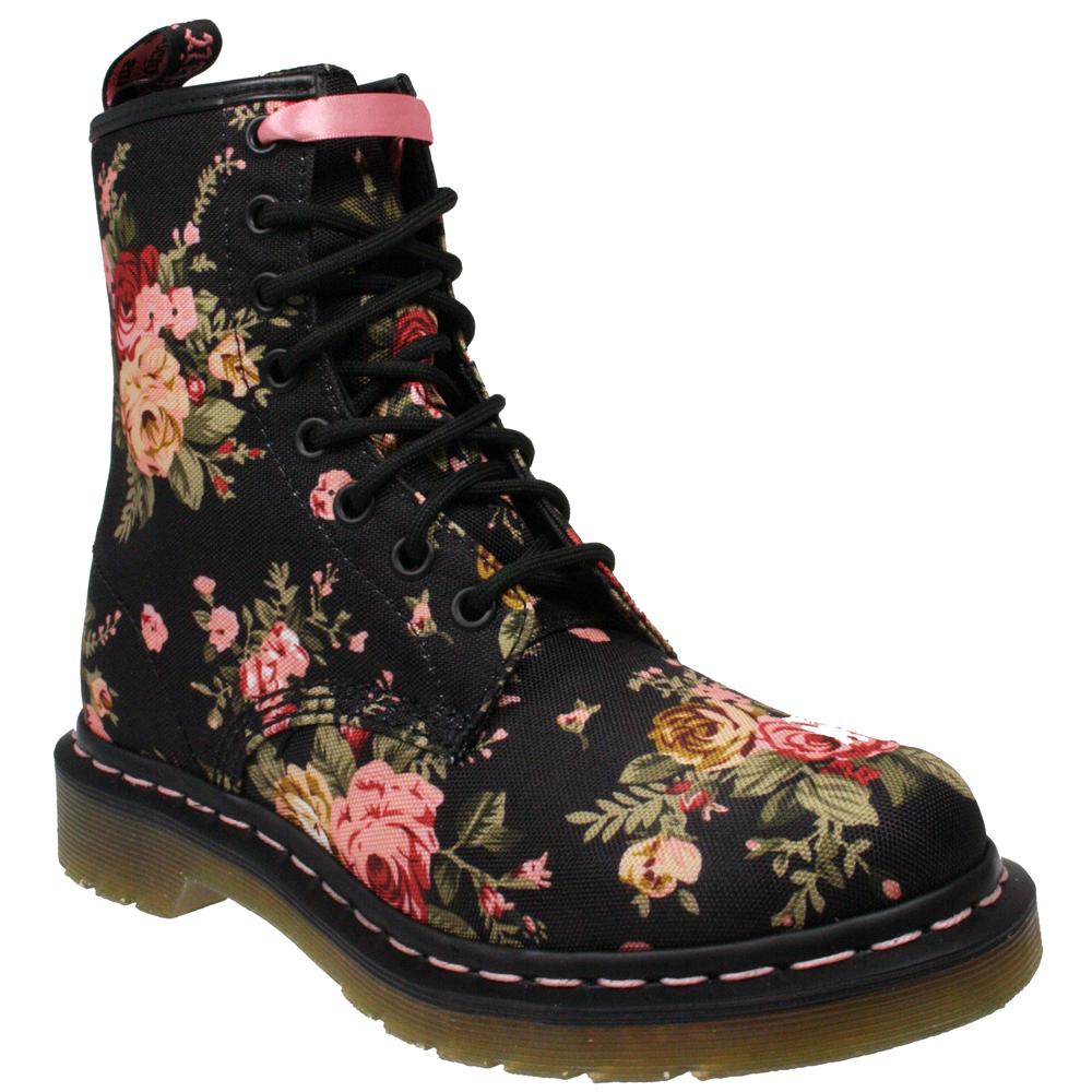 Popular Floral Print Dr Martens Women S Boots Fashion Floral Print Dr Martens