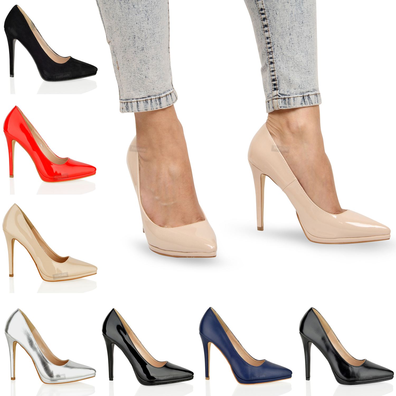Mujer plataforma tac n aguja alto elegante formal sexy for Zapateros elegantes