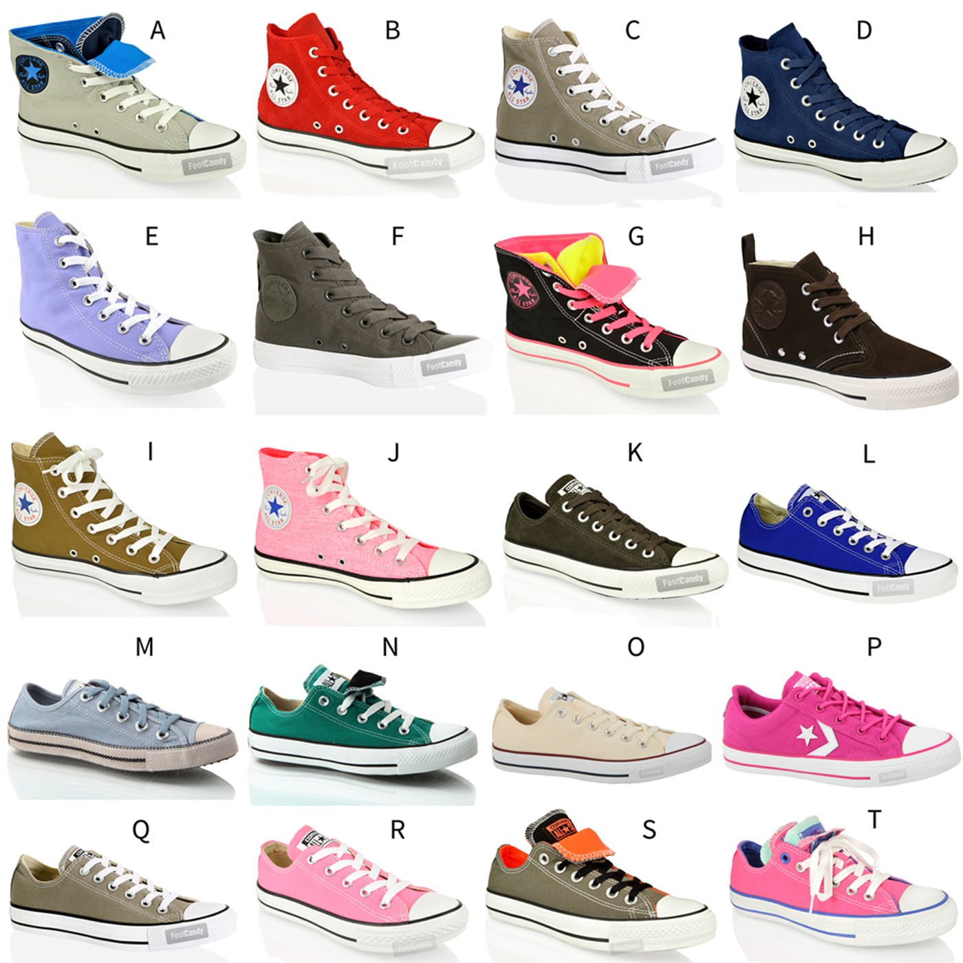 UNISEX CONVERSE ALL STAR CT HI LO TOP CANVAS LEATHER TRAINERS ...