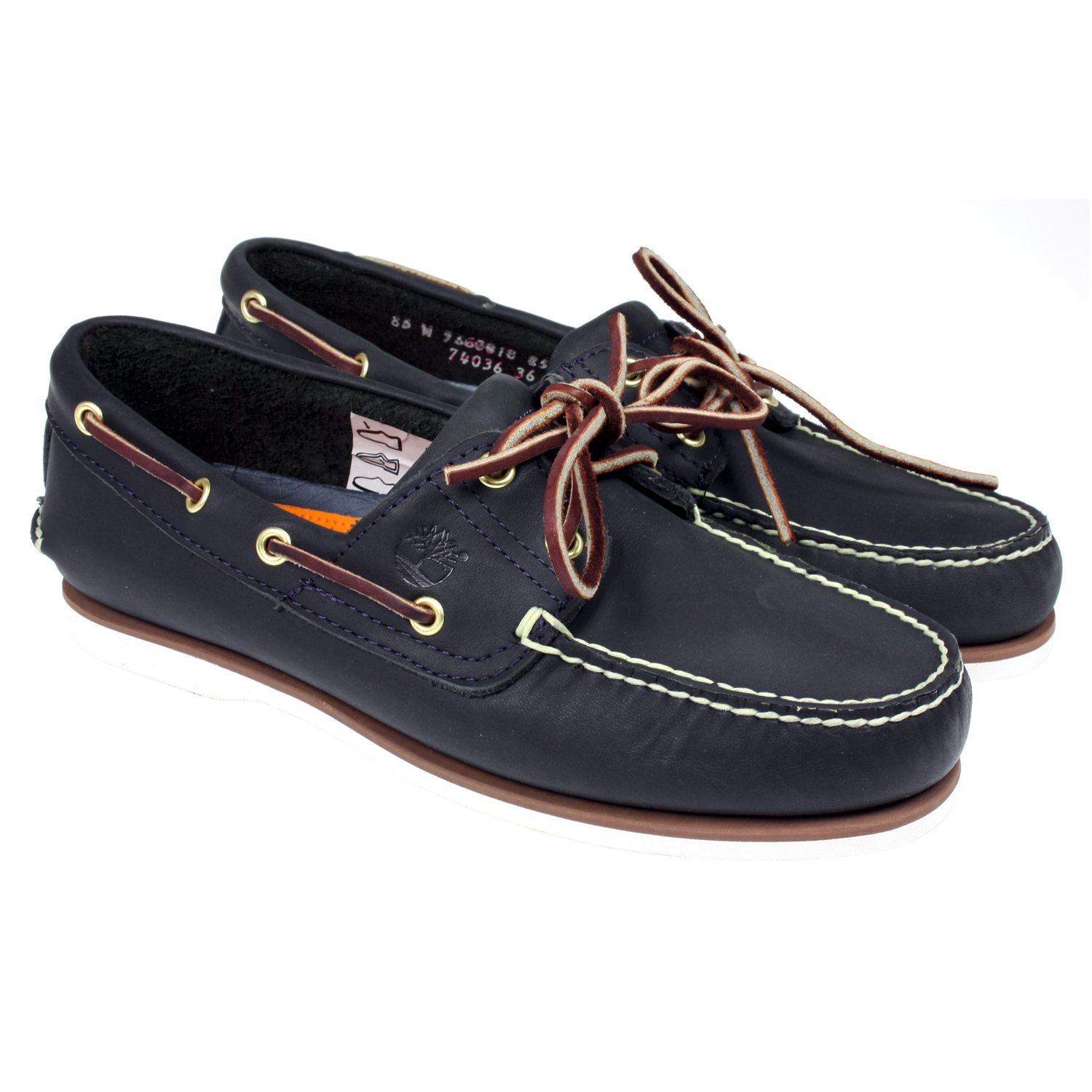 Timberland Womens Boat Shoes Navy Aranjacksoncouk