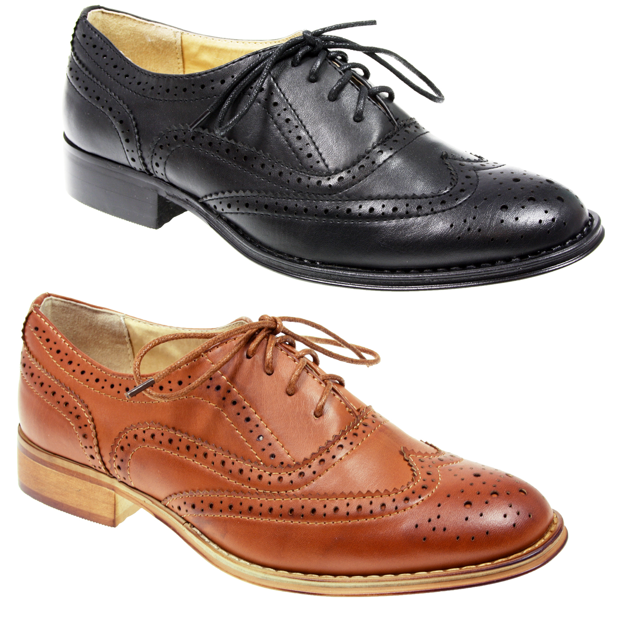 Shop eBay for great deals on Leather Lace Up Flats & Oxfords for Women. You'll find new or used products in Leather Lace Up Flats & Oxfords for Women on eBay. Free shipping on selected items. Ladies Lace up Shoes Women Genuine Leather Oxford Flats Wing Tip Brogue Shoes YT. $ Was: Previous Price $ DANSKO Shoes Women's Size 7 (