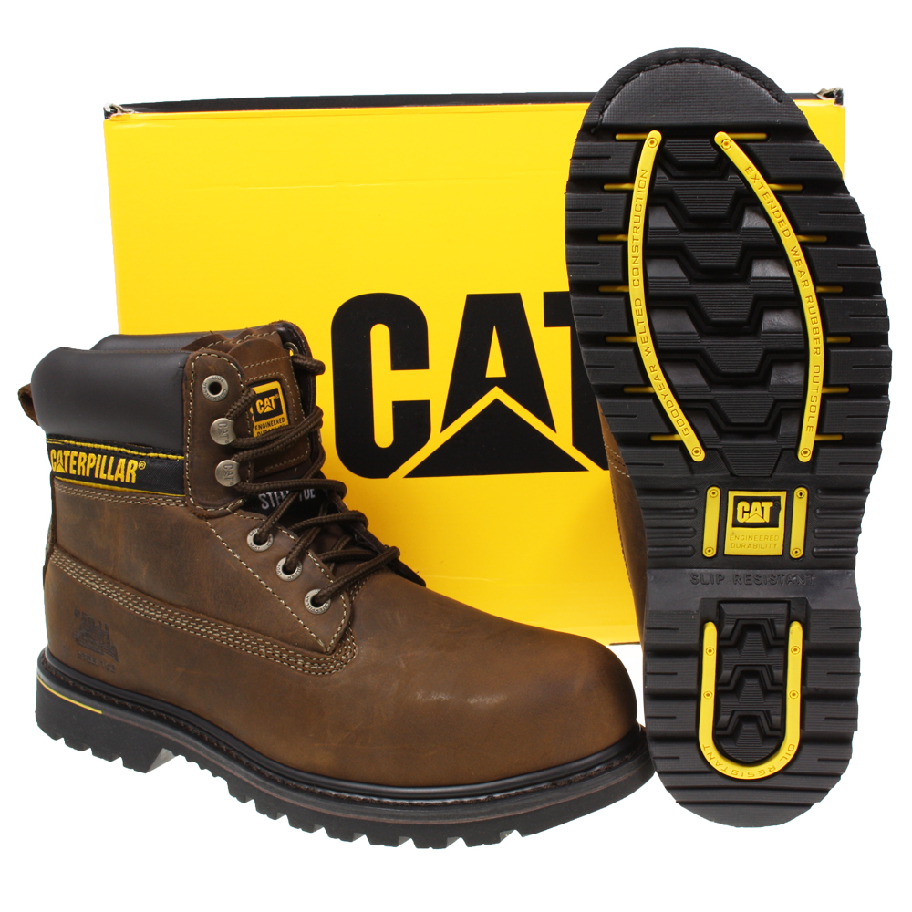 Cat Steel Toe Shoes Mens