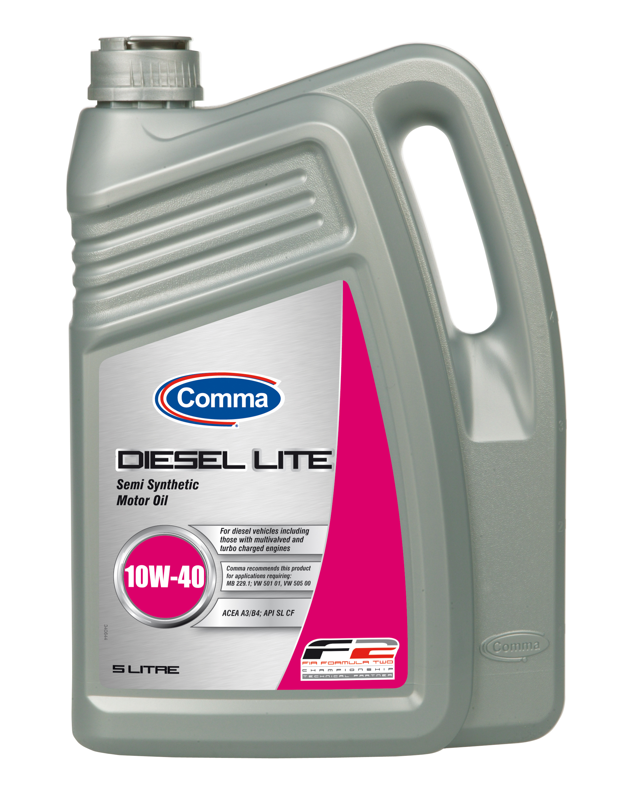 Comma Diesel Lite 10w 40 Semi Synthetic Motor Engine Oil