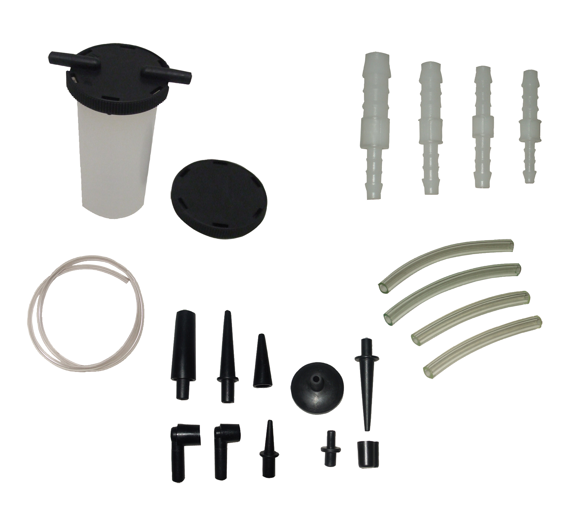 Sykes Pickavant Universal Bleed Bottle and Accessory Set Kit 01391500