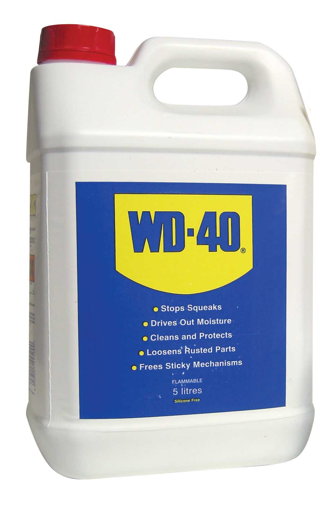 wd40 5 litre bottle wd 40 maintenance chain lubricant oil. Black Bedroom Furniture Sets. Home Design Ideas