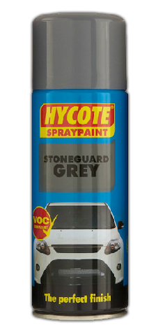 Hycote Stoneguard Grey Spraypaint 400ml Stone Chip Guard Aerosol XUK475