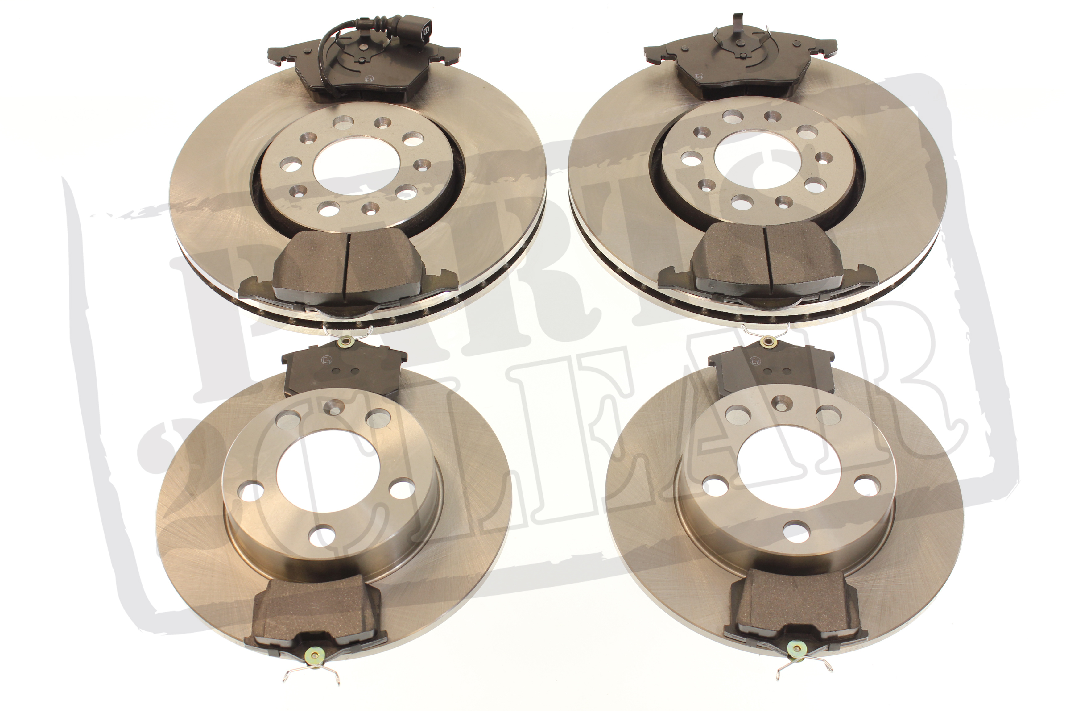 skoda fabia front rear brake pads discs 1 0 1 2 1 4 1 6 1 9 2 0 sdi tdi vrs ebay. Black Bedroom Furniture Sets. Home Design Ideas