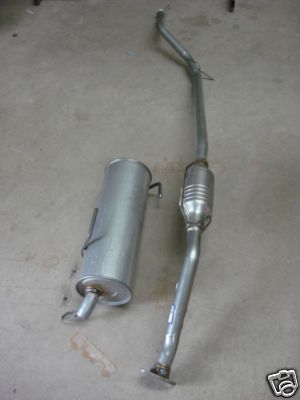 peugeot 206 1.9 hdi catalytic cat rear exhaust box full system 90