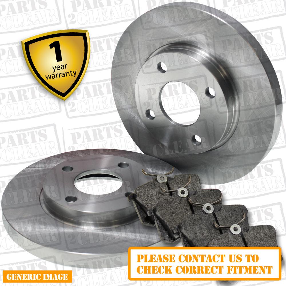 skoda fabia 10 1 4 tsi vrs rs 178bhp rear brake pads discs 232mm solid trw sys. Black Bedroom Furniture Sets. Home Design Ideas