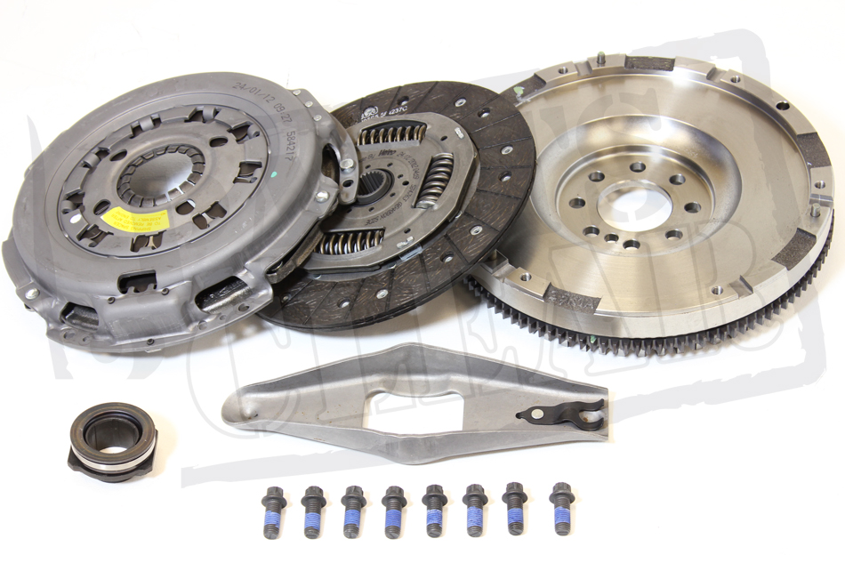 FORD TRANSIT CLUTCH SOLID FLYWHEEL KIT 2.4 TD 00-06 NEW