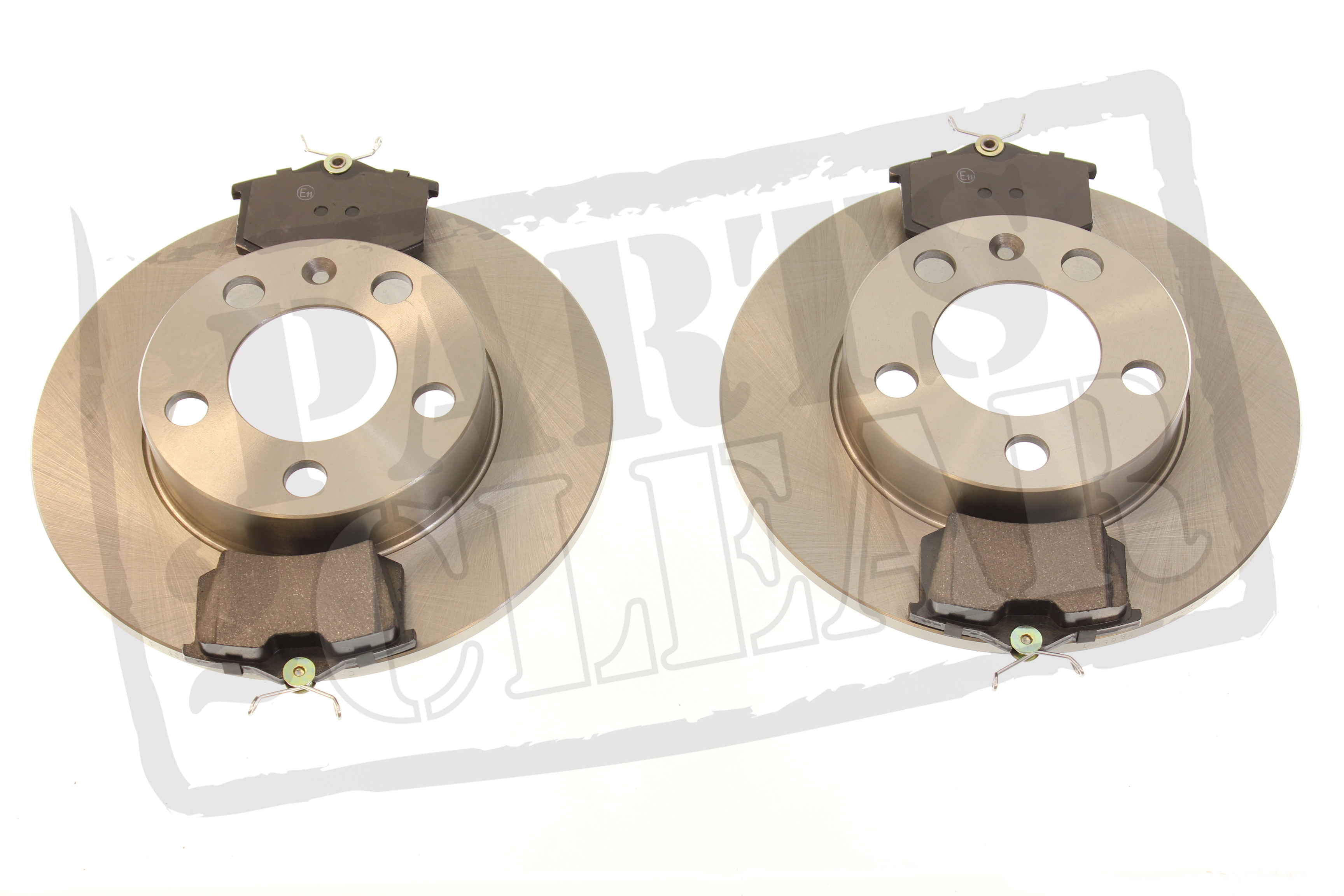 vw golf mk4 1 9 sdi tdi rear brake discs pads 232mm solid 97 04 sdi tdi ebay. Black Bedroom Furniture Sets. Home Design Ideas