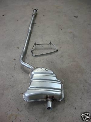 Mini one exhaust