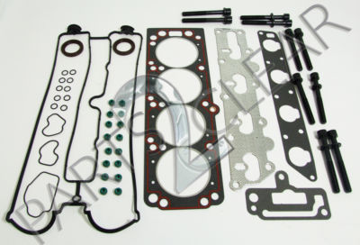 HEAD GASKET SET & HEAD BOLTS VAUXHALL ASTRA OMEGA VECTRA 2.0 16V DOHC