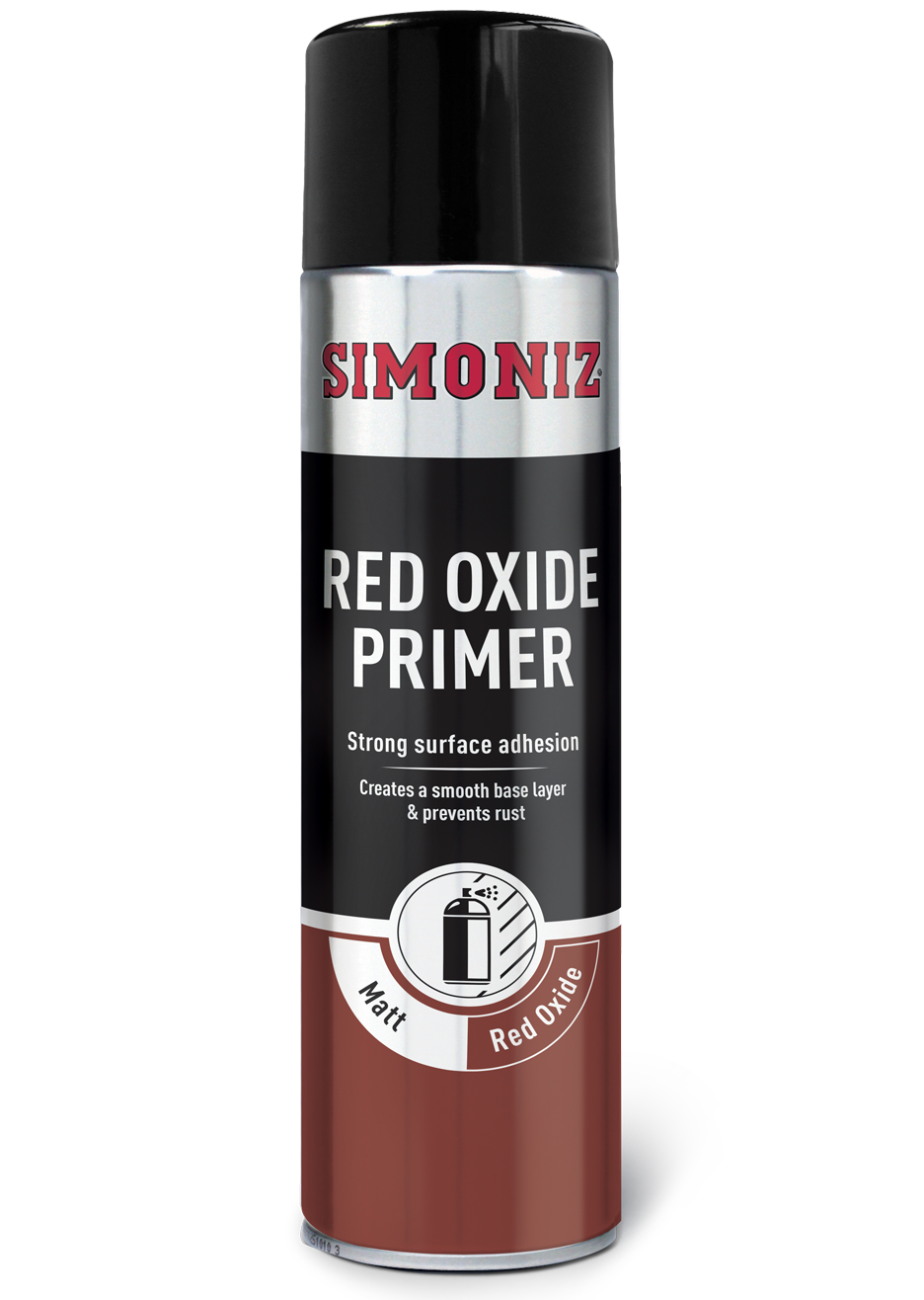 Holts Simoniz Red Oxide Primer Spray Paint Workshop Multiple Purpose Application Ebay