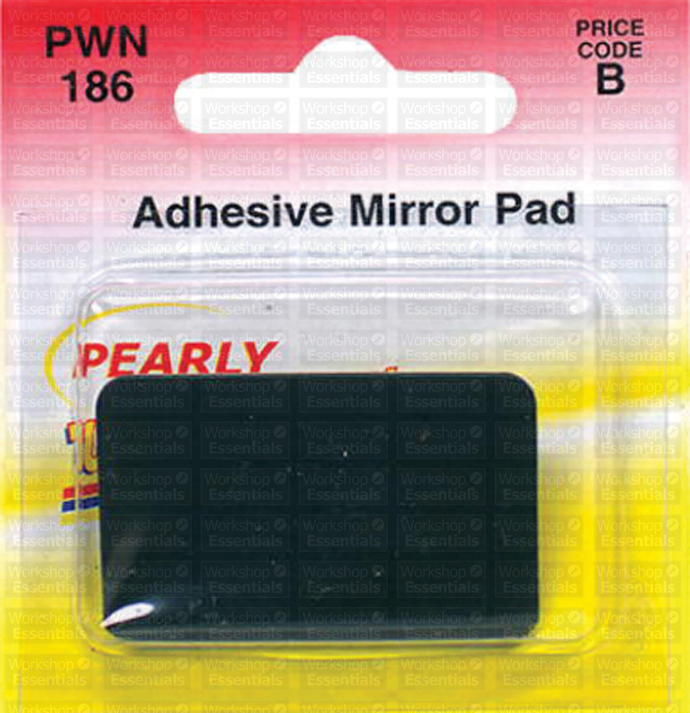pearl adhesive rear view mirror pad double sided interior replacement ebay. Black Bedroom Furniture Sets. Home Design Ideas