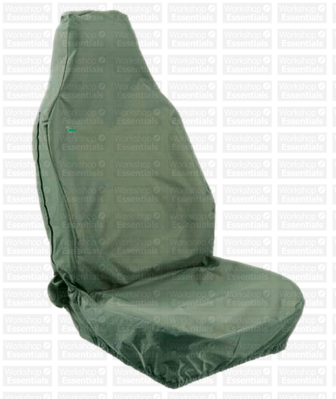 Town And Country 3D Universal Front Car Seat Cover Green