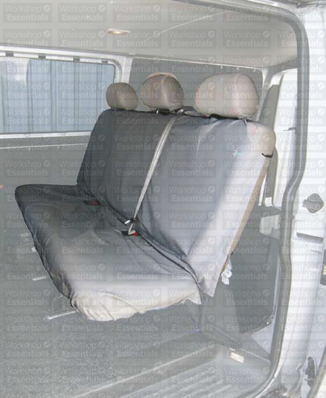 Replacement Van Seats : Town and country van crew rear seat cover black interior