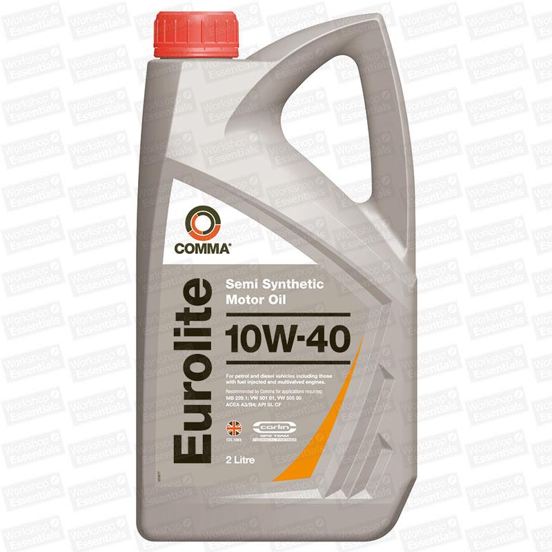 comma eurolite 10w 40 motor engine oil mb 229 1 vw 501 01. Black Bedroom Furniture Sets. Home Design Ideas