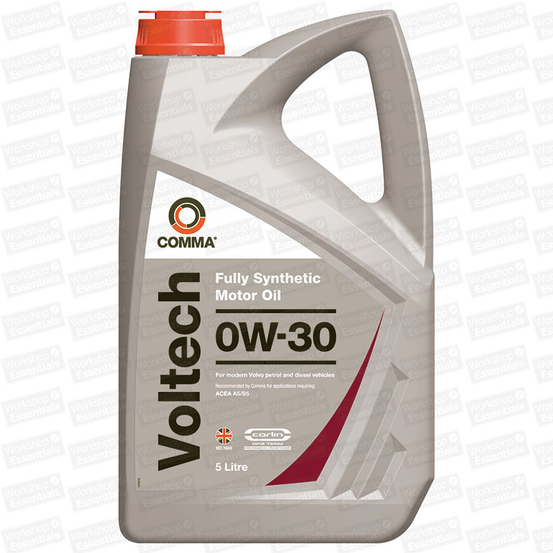 Comma voltech 0w 30 engine motor oil acea a5 b5 vtc5l for 30 weight motor oil