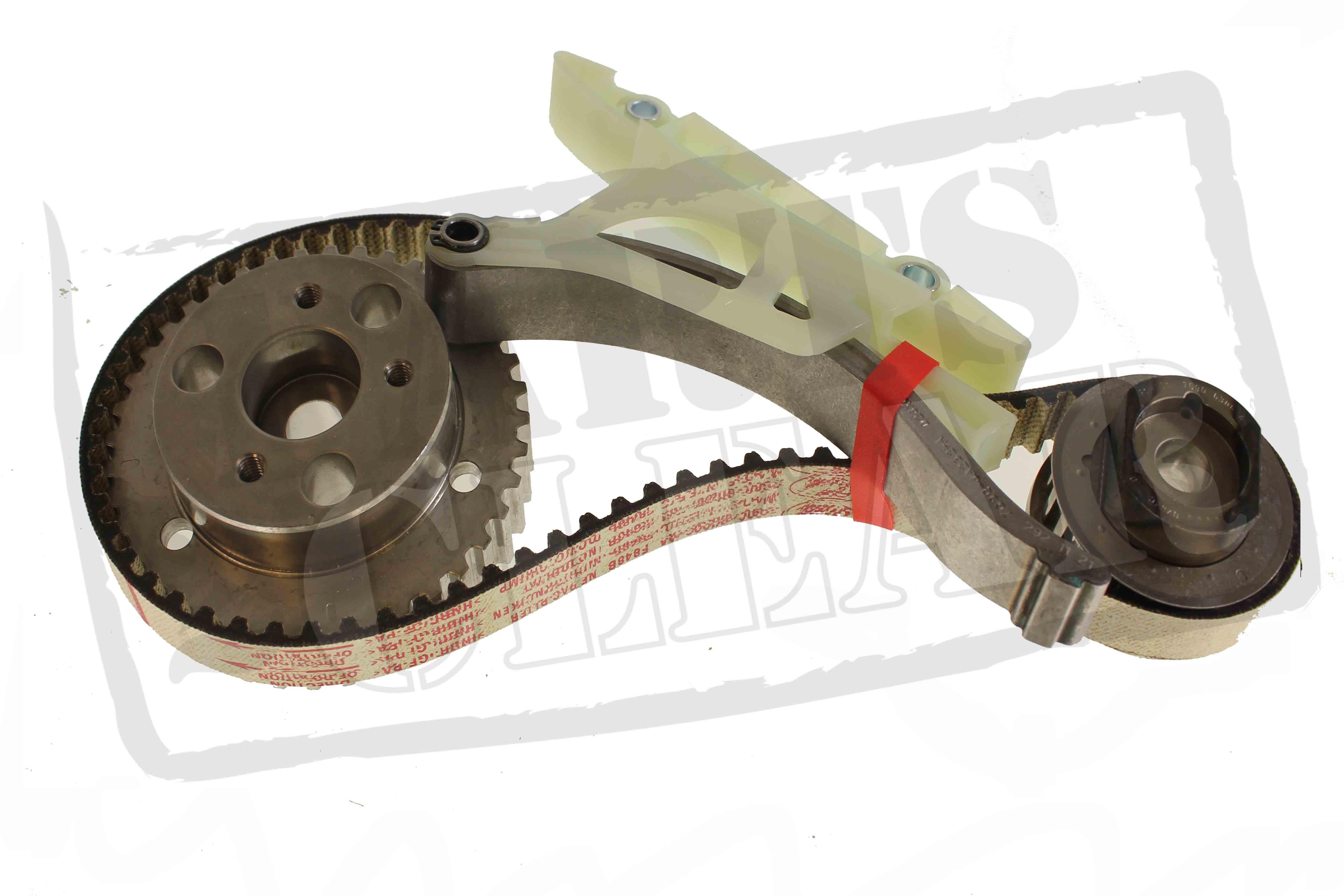 Ford Timing Belt : Ford tdci timing belt cassette kit focus c max mondeo