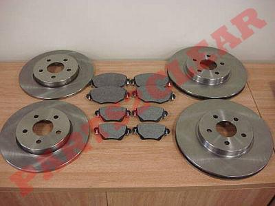 jaguar x type avant et plaquettes frein disques arriere pads 2002 2004 ebay. Black Bedroom Furniture Sets. Home Design Ideas
