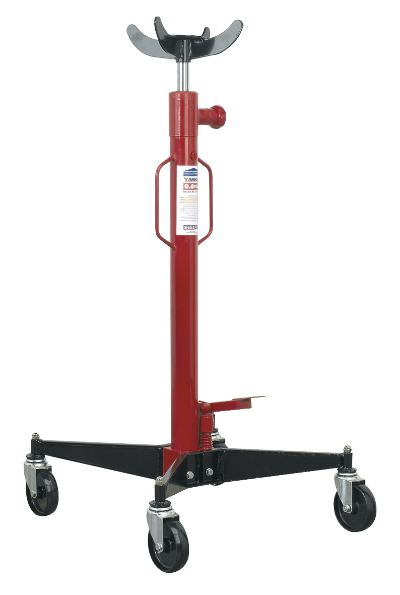 Vertical Lift Devices : Sealey transmission jack tonne vertical tr gearbox