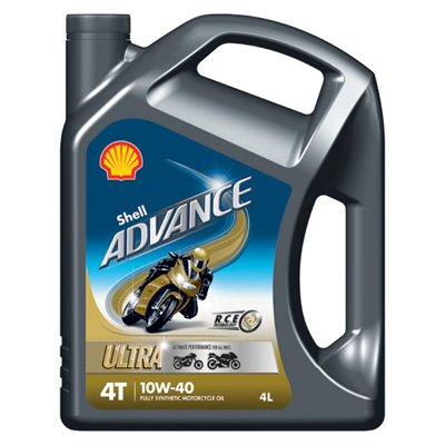 shell advance ultra 4 10w 40 motorcycle engine oil 4l ebay