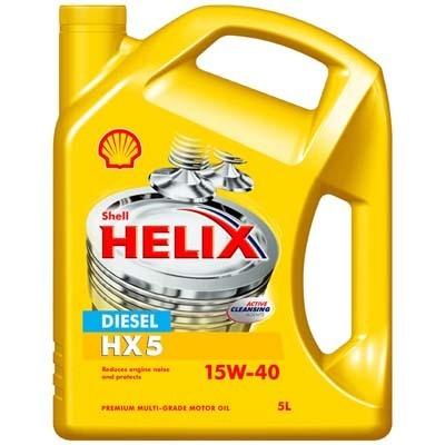 Shell helix diesel hx5 15w 40 engine oil 5 litres ebay for Shell diesel motor oil