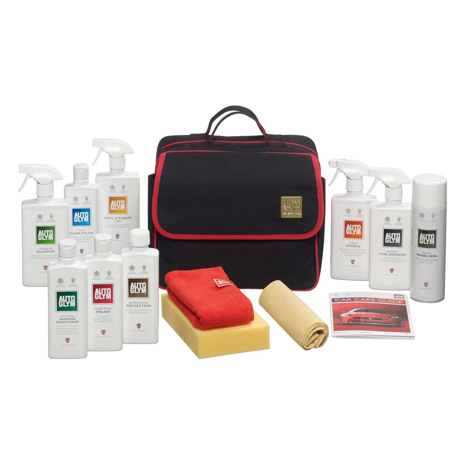autoglym perfect bodywork wheels interior collection kit car care cleaning set. Black Bedroom Furniture Sets. Home Design Ideas