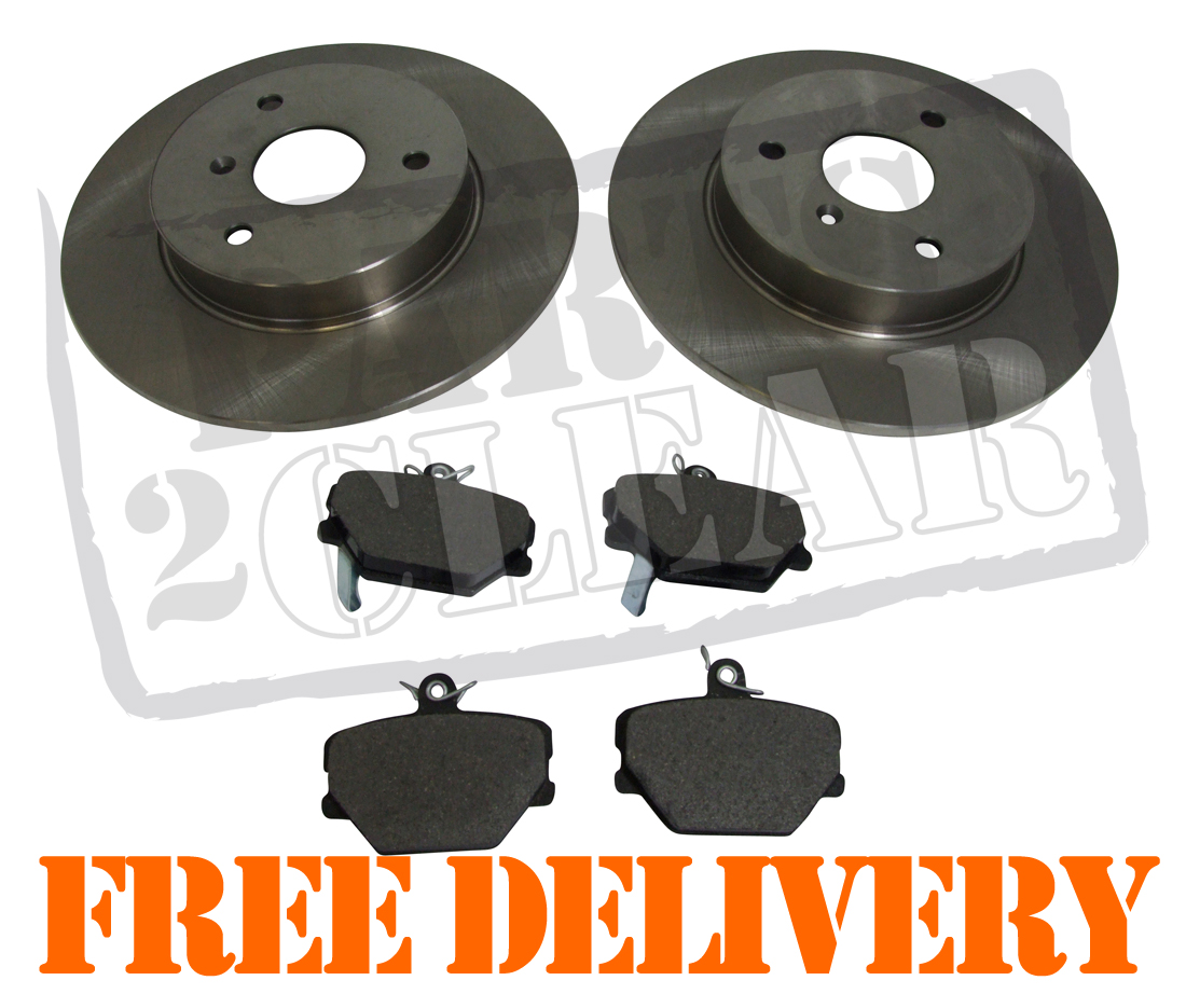 SMART CAR 2004-2012 FRONT 2 DISCS AND PADS /& REAR 2 BRAKE DRUMS /& SHOES SET