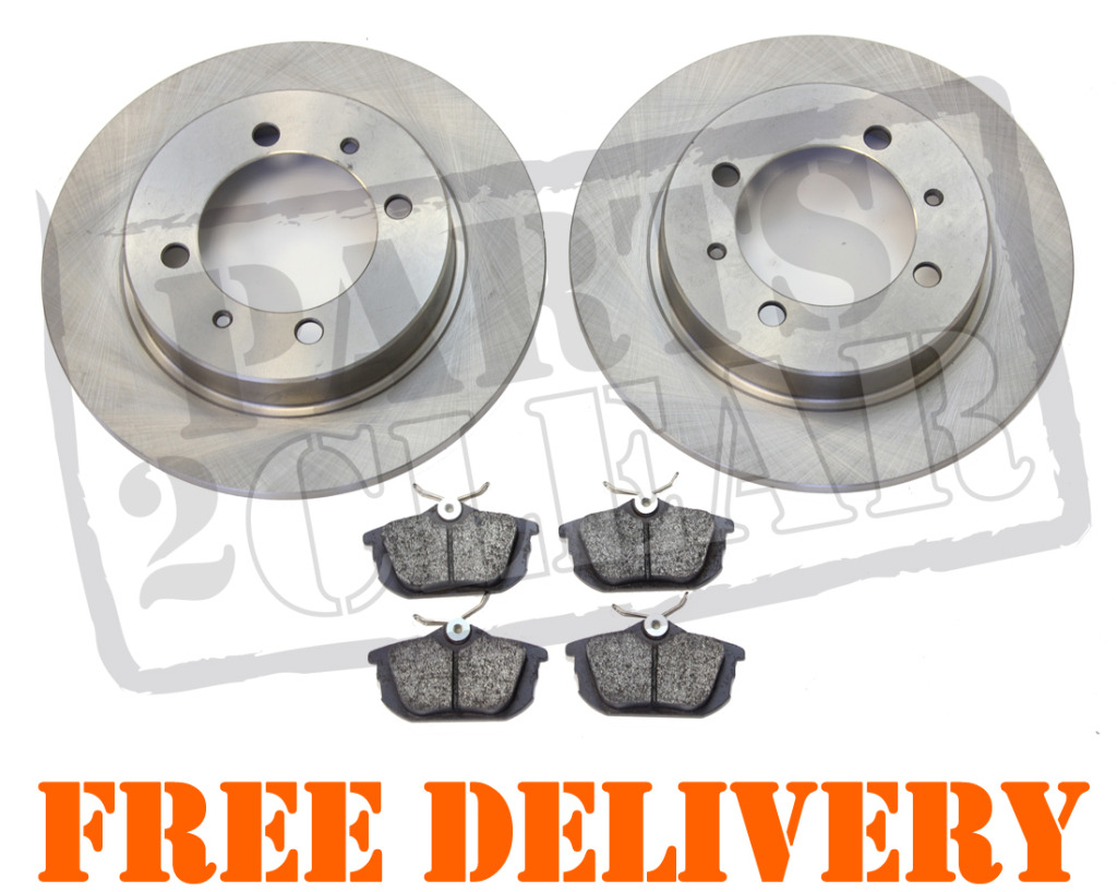 volvo s40 v40 1 6 1 8 1 9 2 0 rear brake discs pads set brand new kit 95 03 ebay. Black Bedroom Furniture Sets. Home Design Ideas