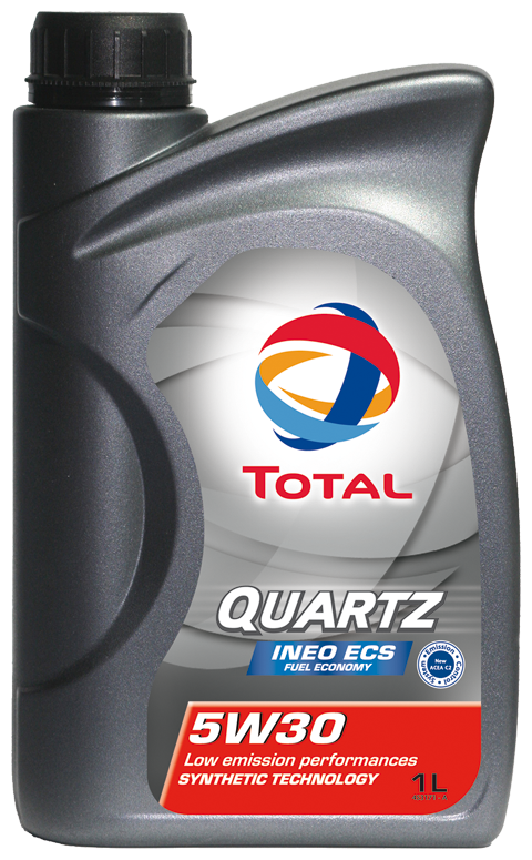 total quartz ineo ecs 5w30 motor engine oil 1 litre tot166252 ebay. Black Bedroom Furniture Sets. Home Design Ideas