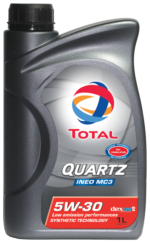 Total quartz ineo mc3 5w30 motor engine oil 1 litre for Total quartz motor oil