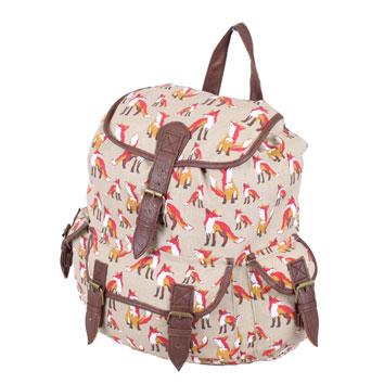 femme floral toile sac dos sac dos bandouli re cole. Black Bedroom Furniture Sets. Home Design Ideas